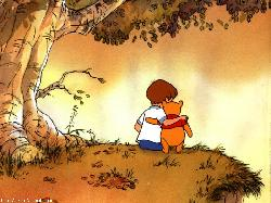 Image result for christopher robin and pooh bear